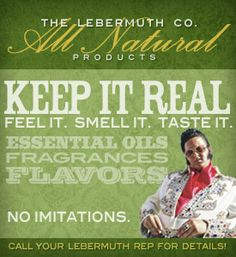 the Lebermuth Company Family owned  since 1908. customers can benefit from the vast knowledge and experience 102 years in the industry can offer. Understanding and using essential oils as the building blocks for flavor, and fragrance, we can create a variety of both popular and unique products ranging from synthetic to 100% natural. Lebermuth is here to help you achieve the vision for your brand, whether it is on the shelves of national stores or at local fresh air markets.