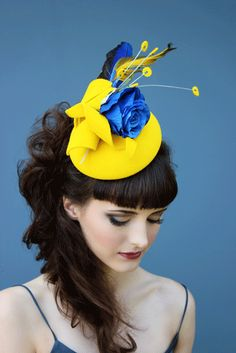 Holly Young Hats Boutique » 'Eamque' Sculptural Felt Cocktail Hat. #passion4hats
