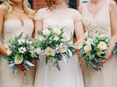 Fall bouquets: http://www.stylemepretty.com/2014/11/12/virginia-fall-vineyard-wedding/   Photography: Katie Stoops - http://katiestoops.com/