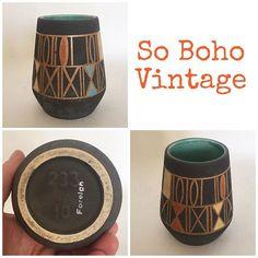 """#sobohovintage #wgp #westgermanpottery #vase #midcenturydesign #midcenturyvintage #midcenturyceramics #matt #texturedglaze  #internalblueglaze #qualitymidcenturyhomewares #design #interiordesign #vintageinteriors #forsale ... Heading for the eBay store http://stores.ebay.co.uk/VintageLynz?_trksid=p2047675.l2563"" Photo taken by @vintagelynz on Instagram, pinned via the InstaPin iOS App! http://www.instapinapp.com (02/10/2016)"