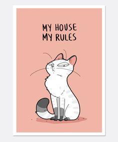 New Funny Cats Drawing Gatos 42 Ideas I Love Cats, Cute Cats, Funny Cats, Funny Humor, Cats Humor, Crazy Cat Lady, Crazy Cats, Cat Comics, Funny Comics
