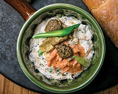Smoked Salmon, Morel and Scallion Pate.' MyNorth.com