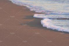 Sand Sea Wave Foam by QueenDesigns on @creativemarket