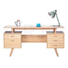 Josephine Scandinavian Style Furniture Office Desk - Natural   $599.00