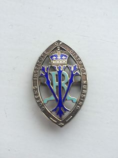 Queens institute of District Nursing Silver Badge 21 years service