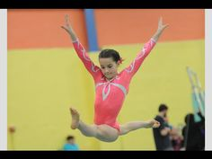 Annie the Gymnast | Level 7 State Gymnastics Meet 2015 | Acroanna - YouTube