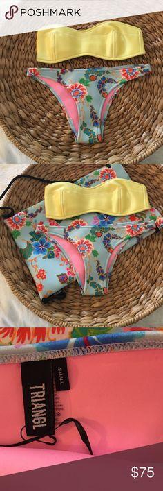 NWT TRIANGL YASMINE IN SUNNY, SIZE S NWT TRIANGL YASMINE IN SUNNY, SIZE S triangl swimwear Swim Bikinis
