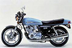 Suzuki GS1000 Motorcycle. Old School Beauty!
