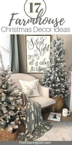 Looking for for pictures for farmhouse christmas tree? Check this out for cool farmhouse christmas tree pictures. This cool farmhouse christmas tree ideas seems to be entirely amazing. Modern Farmhouse Style, Farmhouse Style Decorating, Decorating Your Home, Farmhouse Decor, Rustic Style, Farmhouse Design, Farmhouse Ideas, Farmhouse Flooring, Country Style