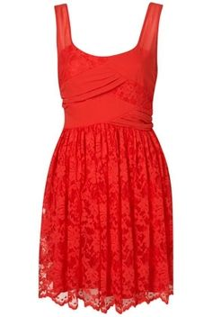 Lace Prom Dress By Dress Up Topshop** - StyleSays