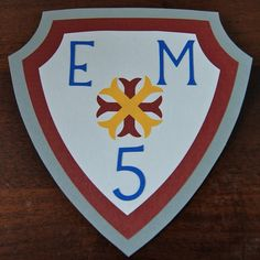 Medieval Knight Birthday Shield Sign by AnyGoodIdeas on Etsy, $6.00