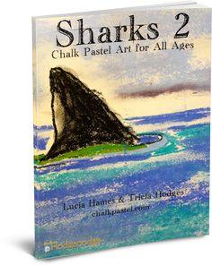 Introducing the second volume of shark chalk art tutorials for you! Sharks Chalk Pastel Art for All Ages has a wide variety of sharks to create with chal Chalk Pastel Art, Chalk Pastels, Shark Art, Diy Arts And Crafts, Diy Crafts, Art Curriculum, Teaching Art, Artist Art, Art Music