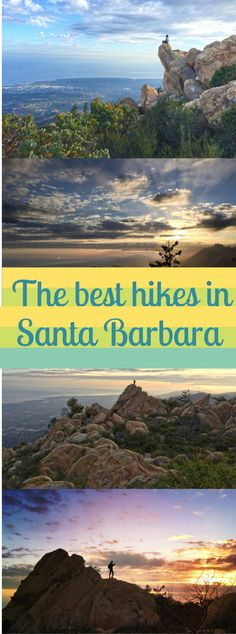 From hidden hiking trails to popular paths and viewpoints, these are some of the best hikes (and views) in #SantaBarbara's mountains. #Travel