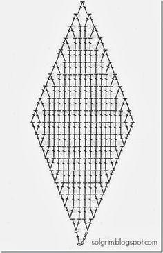 """Pattern for single module of """"cube"""" blanket"""