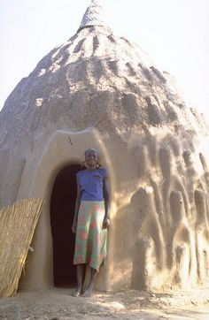 Unusual African houses