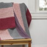 Berry Lovely Blanket - love the color combo and easy pattern.