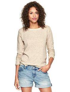 Marled sweatshirt