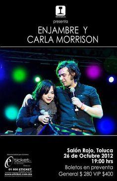 Enjambre y Carla Morrison @Toluca  26 Octubre