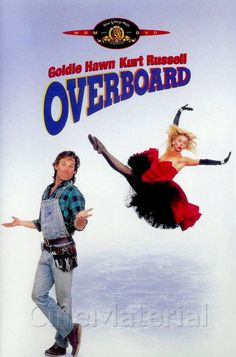 Overboard movie poster, 1986