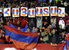 Image result for armenia soccer supporters