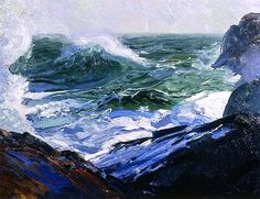 George Bellows - 1913 Forth and Back I adore Bellows!