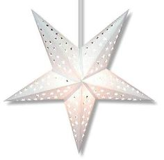 PAPER STAR LIGHTS White Purity Star
