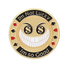 Dogs Playing Poker Hand Protector Novelty Token Chip Mounted in Acrylic Case