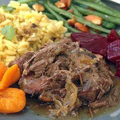 Slow roast shoulder of venison How To Cook Venison, Venison Roast, Slow Roast, Deer Shoulder Recipe, Venison Recipes, Slow Cooker Recipes, Low Carb Recipes, Crockpot Recipes