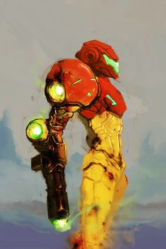 Samus Aran / SNES-era by cobaltplasma on DeviantArt