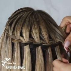 Easy Hairstyles For Long Hair, Braided Hairstyles Tutorials, Braids For Long Hair, Cute Hairstyles, Wedding Hairstyles, Hairstyles Videos, Updo Hairstyle, Box Braids, Side Braids