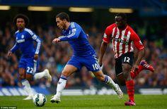 Eden Hazard takes off