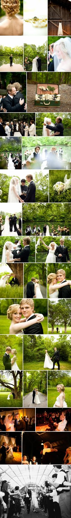 One of the cutest weddings ever! Caleb and Julia Chapman :)