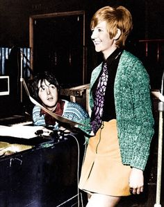 Image result for paul mccartney cilla black
