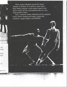 "Dance Theatre of Harlem in Royston Maldoom's ballet ""Doina"""