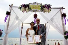Our lasted wedding on the beach   #ceatara #mirage #Weddding #beach #pattaya