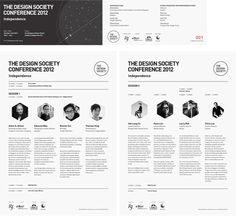 The Design Society Conference 2012 by Roots , via Behance