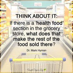 Health food. Dr. Mark Hyman