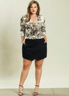 Plus Size Look by Posthaus #plussize
