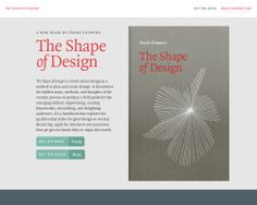 The Shape of Design \ http://shapeofdesignbook.com/