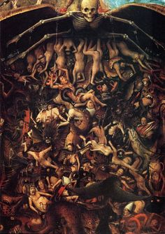 THE LAST JUDGEMENT by Jan Van Eyck 1430