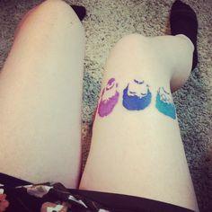 Beatles tattoo.