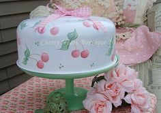 Princess Pink Cherry DeLight Cake Cover  by from my cherry heart, via Flickr