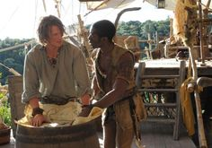 Robinson Crusoe. This show was so good. Philip Winchester is now in Camelot on Starz.