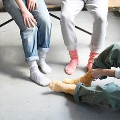 チラリと見える靴下が可愛いねおすすめソックスブランド3選