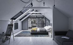 CGarchitect - Professional 3D Architectural Visualization User Community   Loft Bedroom