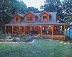 Love Log Homes - Click image to find more hot Pinterest pins