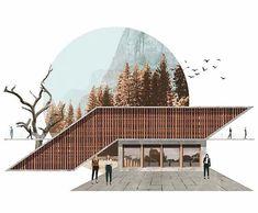 the the I # Kadıoğlu Kadıoğlu # # (@ furkankadioglu__) Furkan Kadıoglu ( Architecture Drawing Plan, Architecture Drawing Art, Architecture Graphics, Architecture Visualization, Japanese Architecture, Architecture Portfolio, Concept Architecture, Landscape Architecture, Architecture Design