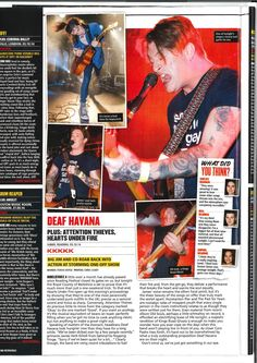 "#KERRANG!! KKKKK - Review! ""...Hearts Under Fire open up this evening's proceedings by showing that they're one of the most perennially underrated punk outfits in the UK; precise as a samurai sword and twice as sharp..#  #heartsunderfire #deafhavana Samurai Swords, Punk Outfits, Havana, About Uk, Hearts, Fire, Reading, Music, Musica"