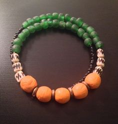 A personal favorite from my Etsy shop https://www.etsy.com/listing/228024259/afrocentric-jewelry-recycled-glass