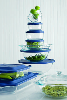 Definite Must Have! Pyrex® 17-Piece Glass Bakeware Set